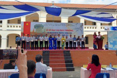 Trường THPT Chu Văn An đạt kết quả cao tại Kỳ thi olympic 30/4 tổ chức tại TP Hồ Chí Minh