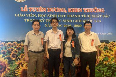 Chúc mừng em Ngô Hữu Phúc Việt đạt giải 3 Quốc Gia môn Tiếng Anh